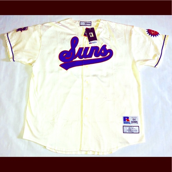 045d06046 Tom Seaver 1966 Jacksonville Suns Jersey Sz 64 New. NWT. Russell Athletic